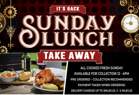 Sunday Lunch Take Away
